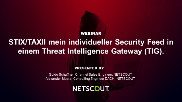 STIX/TAXII mein individueller Security Feed in einem Threat Intelligence Gateway