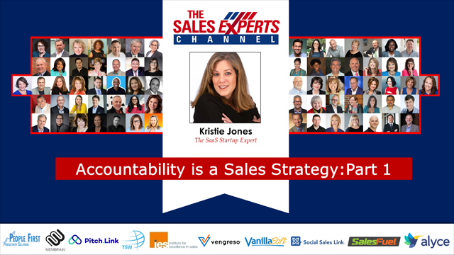 Accountability is a Sales Strategy: Part 1