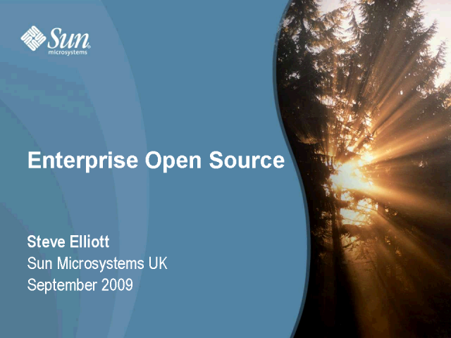 The Open Source Enterprise