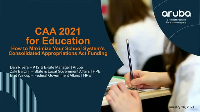 2021 Stimulus for Education: Maximize Your School System's 2021 Stimulus Funding