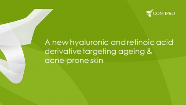 A new hyaluronic and retinoic acid derivative targeting ageing & acne-prone skin