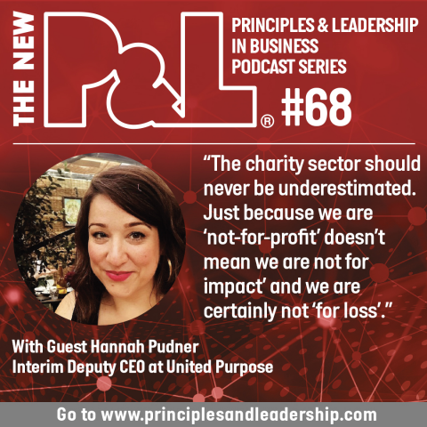 The New P&L speaks to international development agency Deputy CEO, Hannah Pudner