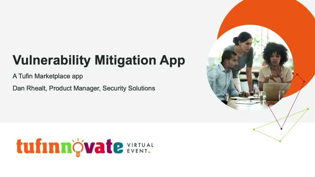 Introducing the Tufinnovate Vulnerability Mitigation App