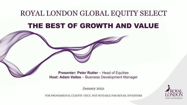 Royal London Global Equity Select - The best of growth and value
