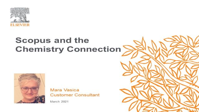 Scopus and the Chemistry Connection