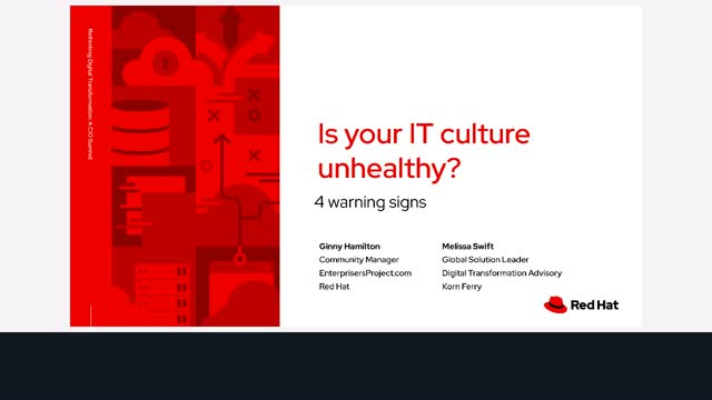 Is your IT culture unhealthy?
