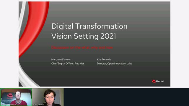Digital Transformation: Vision setting for 2021