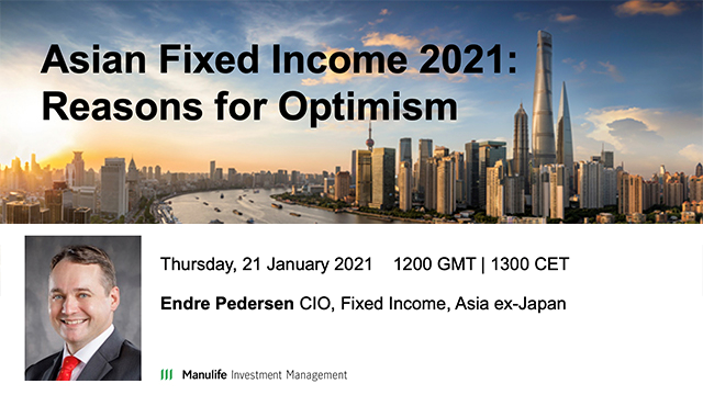 Asian Fixed Income 2021: Reasons for Optimism