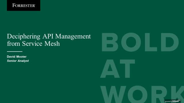 The Secret to Reconciling Your Service Mesh and API Management