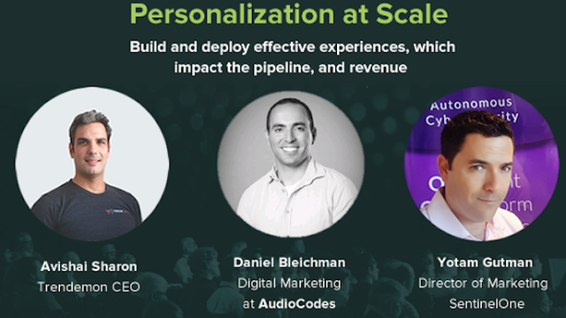 Achieving Personalization at Scale