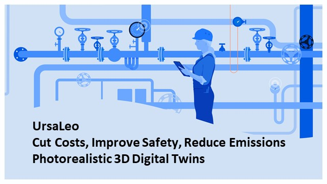 Cutting costs and improving safety using 3D digital twins in Industrial IoT