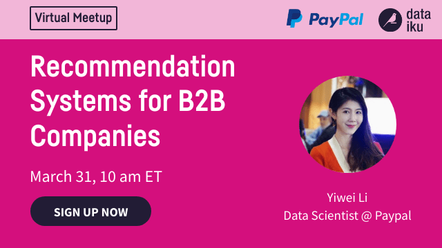 Recommendation Systems for B2B Companies