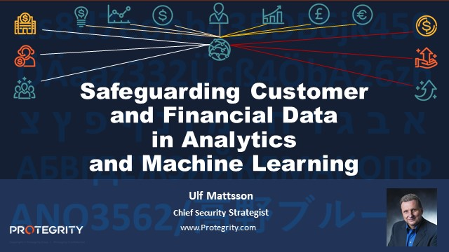 Safeguarding Customer and Financial Data in Analytics and Machine Learning