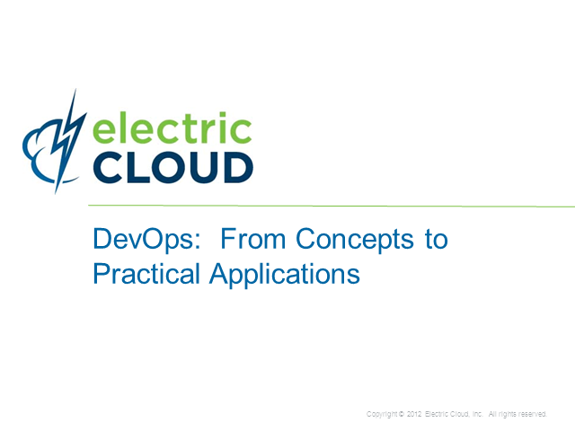 DevOps: From Concepts to Practical Applicatons
