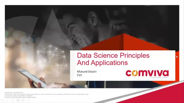 Data Science Principles and Applications