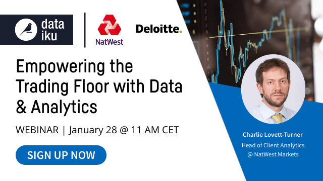 Empowering the Trading Floor with Data and Analytics