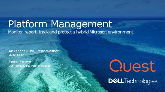 Monitor, report, track and protect a hybrid Microsoft environment.
