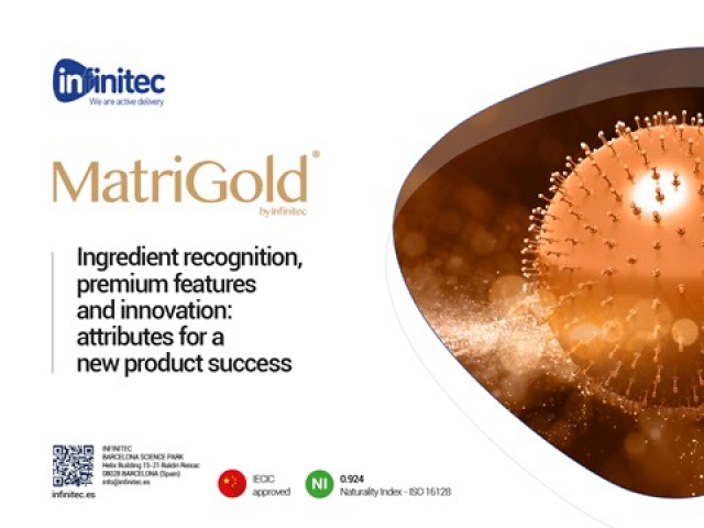 Engineering the future of antiaging skincare with MatriGold®