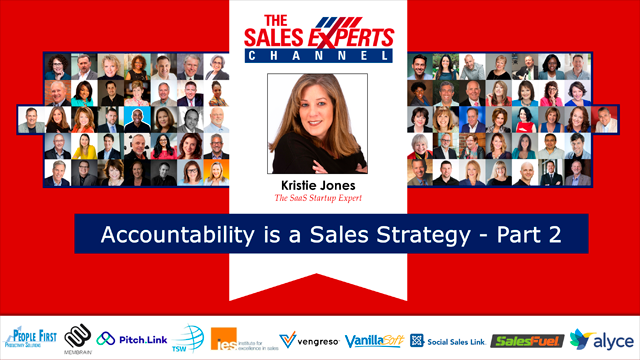Accountability is a Sales Strategy - Part 2