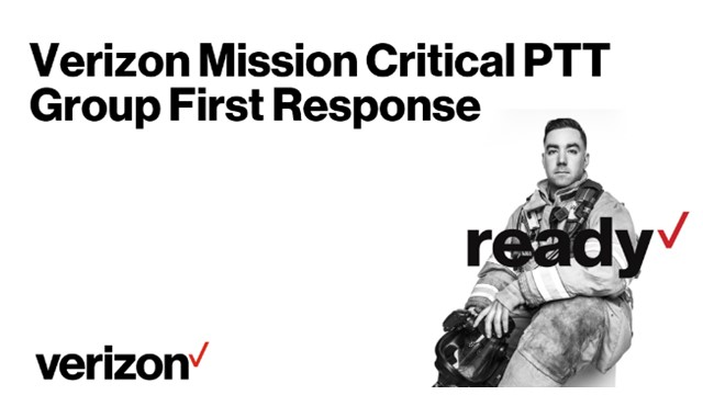 Response ready with Verizon Push-to-Talk solutions