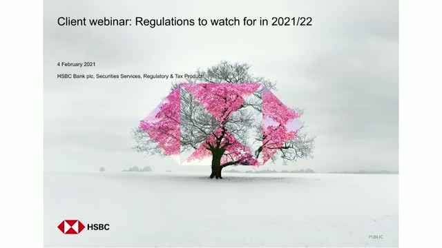 Global regulations to watch in 2021/22