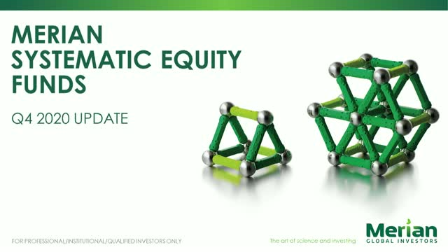 Systematic Equities update with Dr Ian Heslop and Dr Amadeo Alentorn– Q4 2020 PM