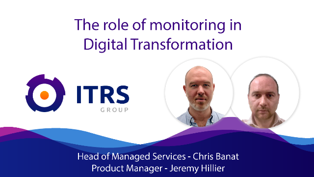 The role of monitoring in Digital Transformation