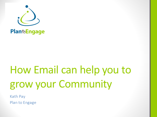 How Email can help you to grow your Community