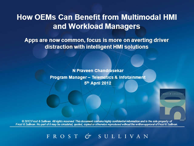How OEMs Can Benefit from Multimodal HMI and Workload Managers