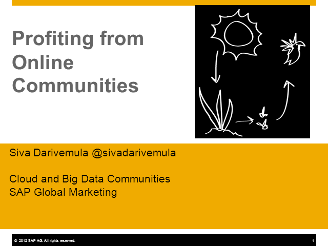 Are Online Communities Profitable?