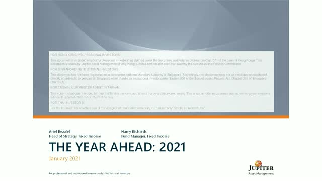 Jupiter Fixed Income webcast: Should investors expect the unexpected in 2021?