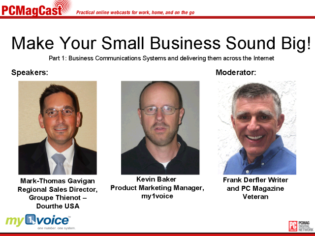 Make Your Small Business Sound Big! Part 1