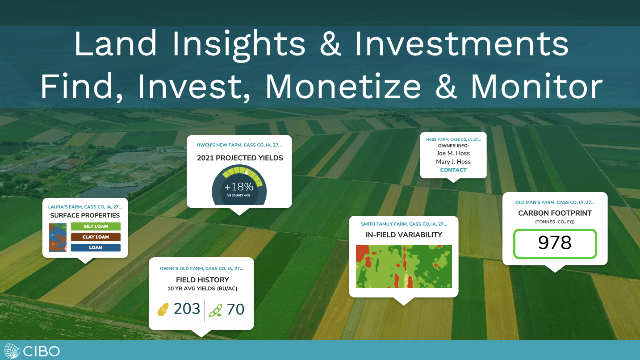 Land Insights & Investments:  Find, Invest, Monetize & Monitor