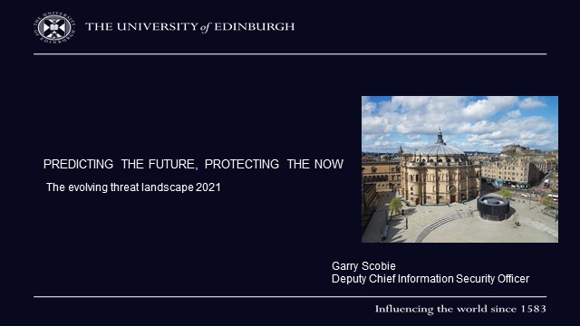 Predicting the future, protecting the now