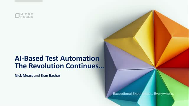 AI-based test automation: The revolution continues…