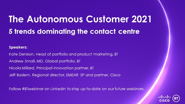 5 trends dominating the 2021 contact centre