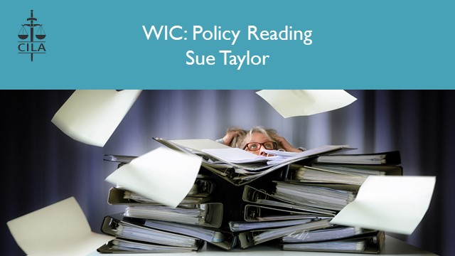Policy Reading