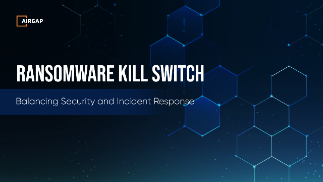 Ransomware Stops Here: Ransomware Kill Switch Use Cases