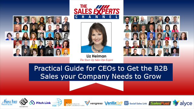 Practical Guide for CEOs to Get the B2B Sales your Company Needs to Grow