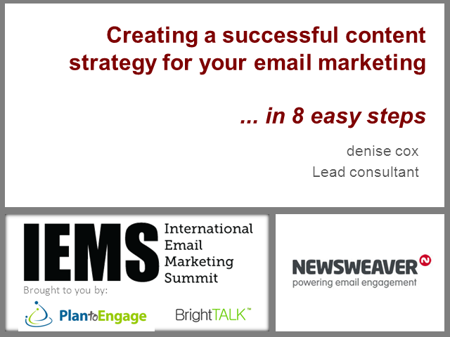 Creating a Successful Content Strategy for Email Marketing: 8 Easy Steps