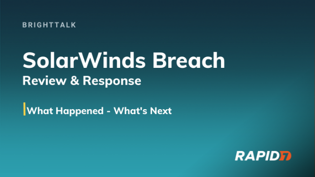 [APAC] SolarWinds attack: What you need to know