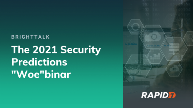 "[APAC] The 2021 Security Predictions ""Woe""binar"