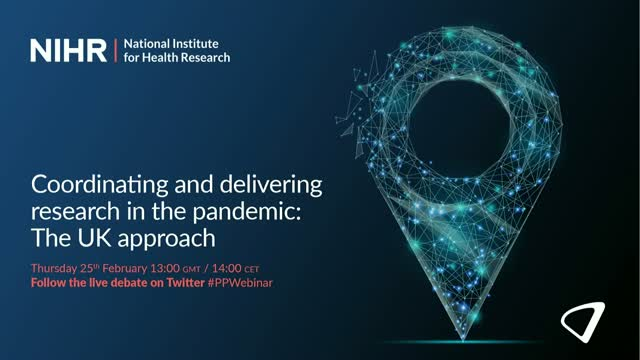 Coordinating and delivering research in the pandemic: The UK approach