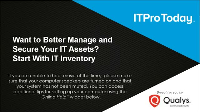Want to Better Manage and Secure Your IT Assets? Start With IT Inventory