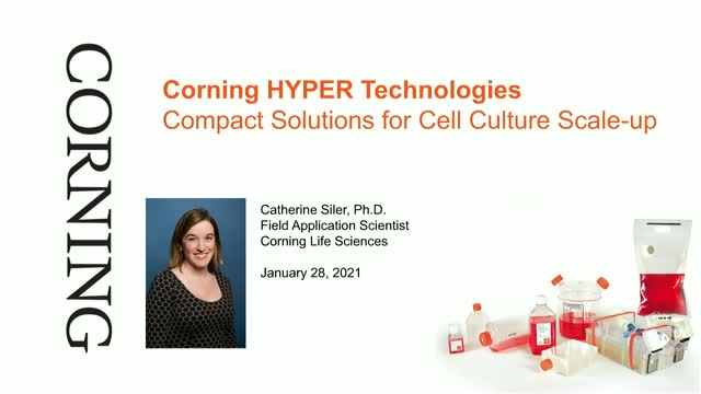 Corning® HYPER Technologies: Compact Solutions for Cell Culture Scale-up