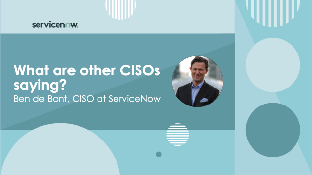 What are other CISOs saying?