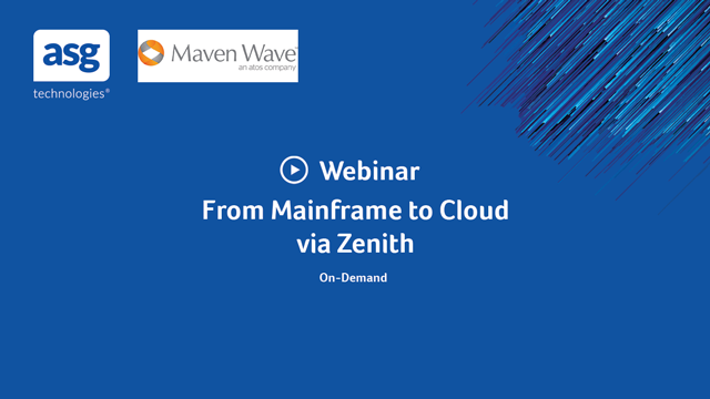 From Mainframe to Cloud via Zenith