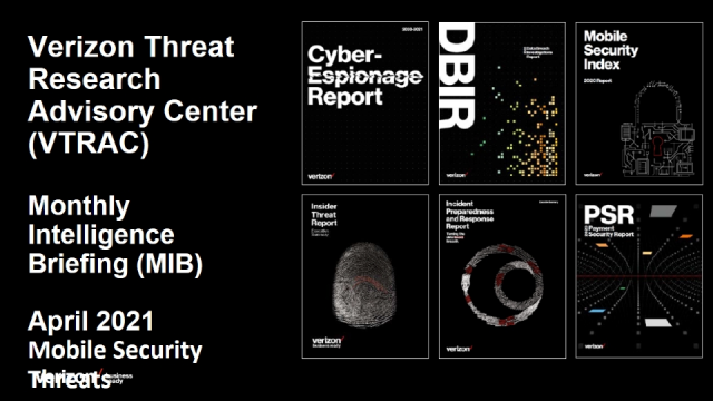 Verizon Threat Research Advisory Center MIB: Cyber Threat Intelligence