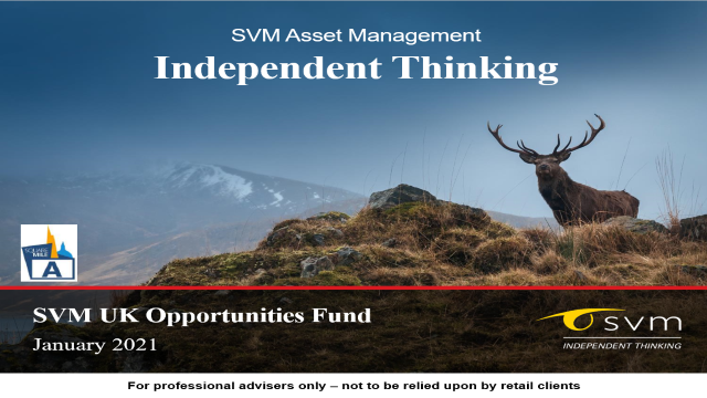 SVM UK Opportunities Fund: January 2021