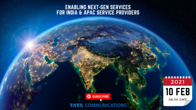 Tata: Enabling Next-Gen Services for India & APAC Service Providers